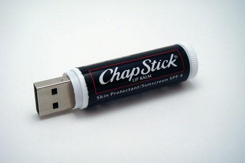 2GB Chap Stick USB Flash Drive