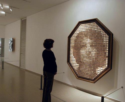 Amazing Wooden Mirror