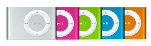 Apple Color iPod Shuffle