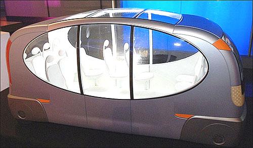 Driverless Bus in UK