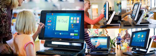 HP TouchSmart IQ770 PC 02