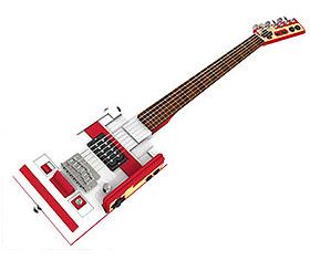 NES turned guitar