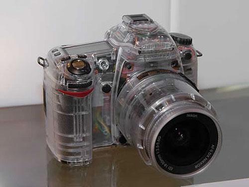 Nikon D80 Transparent Model