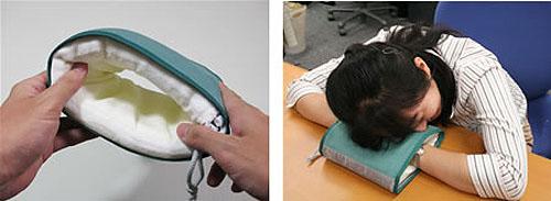 Pino- a portable hand pillow