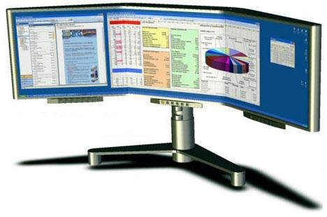 Seamless Display Radius320