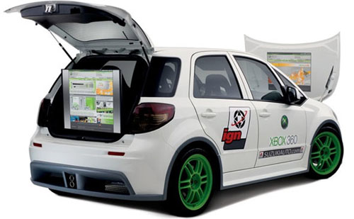 Suzuki Xbox concept car