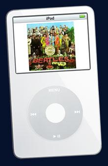 The Beatles iPod イメージ