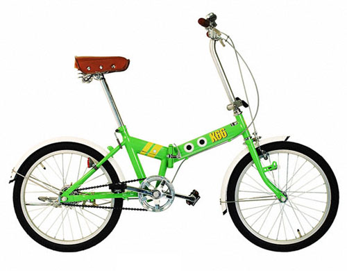 ケロロ軍曹 K66 折りたたみ自転車