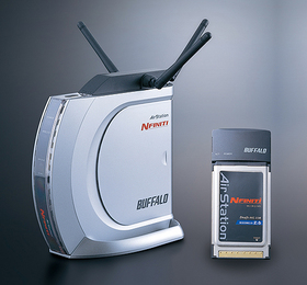 CardBus用無線LANカードセットモデル「WZR-G144N/P」
