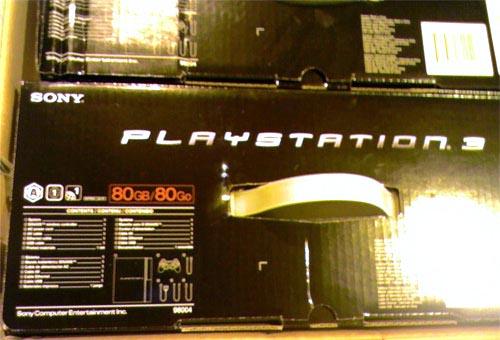 PS3 80GBモデル??