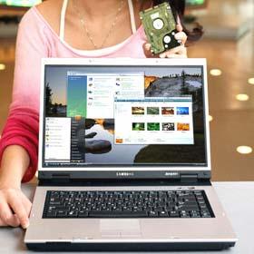 Samsung R55 Hybrid HDD Laptop