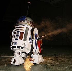 R2-S2 (R2 Steam Too) - The steam powered R2-D2
