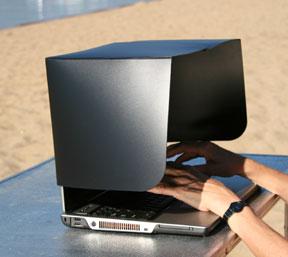 laptop shade